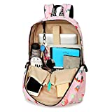 Teecho Girls Waterproof School Backpack Fashion
