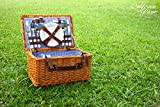 Picnic Basket for 4 Person | Picnic Set | Folding