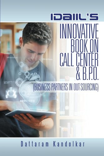Idaiils Innovative Book On Call Center   B P O   Business Partners In Outsourcing
