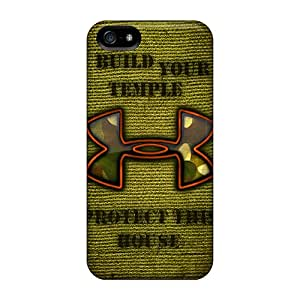 Great Hard Cell-phone Case For Iphone 5/5s With Provide Private Custom HD Under Armour Series AlissaDubois