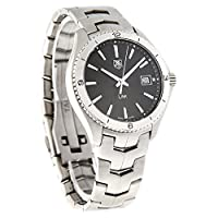 TAG Heuer Men's WAT1110.BA0950 Link Black Dial Watch