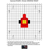 Improved M4 AR15 M16A2 25 Meter Zeroing Targets