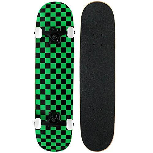Krown Intro Skateboard, Green/Black
