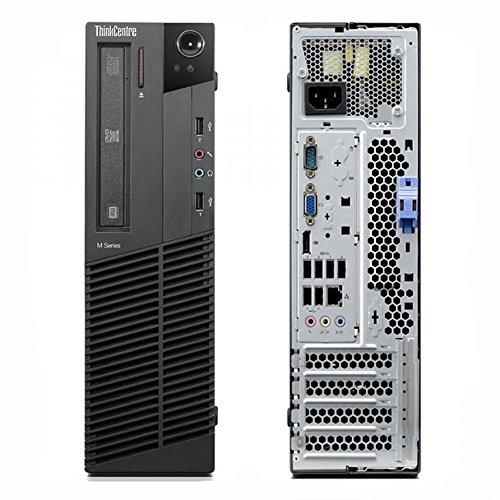 Refurbished - ThinkCentre Lenovo M81 Business Desktop Computer - Intel Quad Core i5-2400 3.1GHz, 8GB RAM, 1TB HDD, WIFI, Windows 7 Professional 64-Bit, Intel HD Graphics, Display Port by RefurbTek (Image #2)