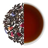 Teabox Mountain Rose Black Tea | from India, Loose Leaf with Natural Ingredients: Cornflower, Cardamom, Rose Petals, Jasmine | Delivered Garden Fresh Direct from source (Mountain Rose Tea)