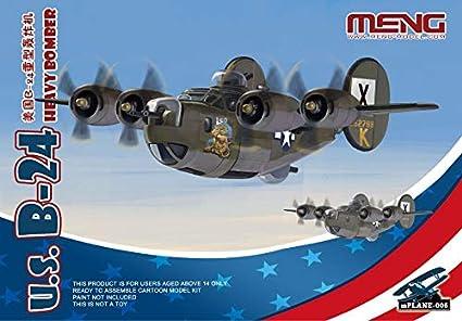 Amazon.com: Meng MNGMKP006 Kids B-24 Liberator: Toys & Games