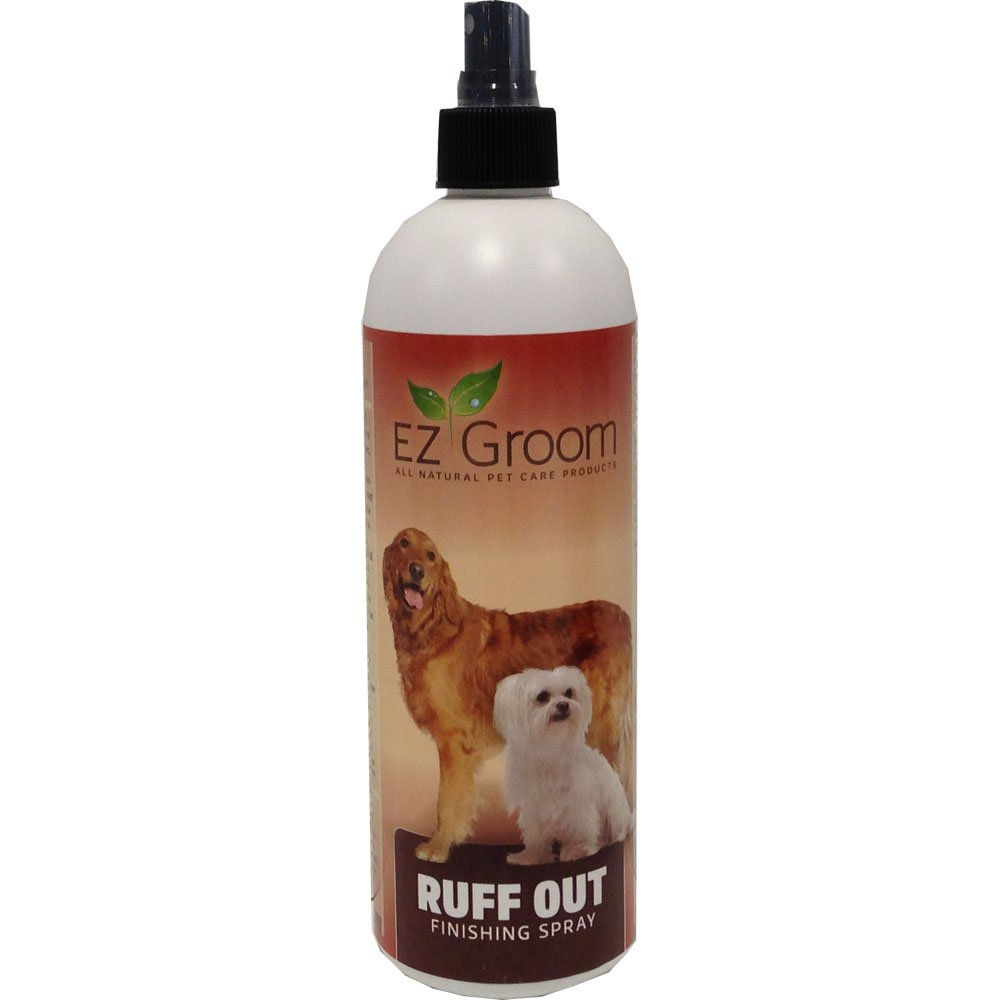 EZ Groom Ruff Out Finishing Spray 16 ounces