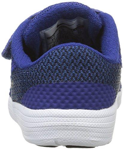 Nike Revolution 3 (TDV) - Zapatillas para niños, multicolor Azul (Dp Ryl Bl / Mtlc Cl Gry Blck Wht)