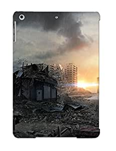 Case Provided For Ipad Air Protector Case Postapocalyptic City Phone Cover With Appearance