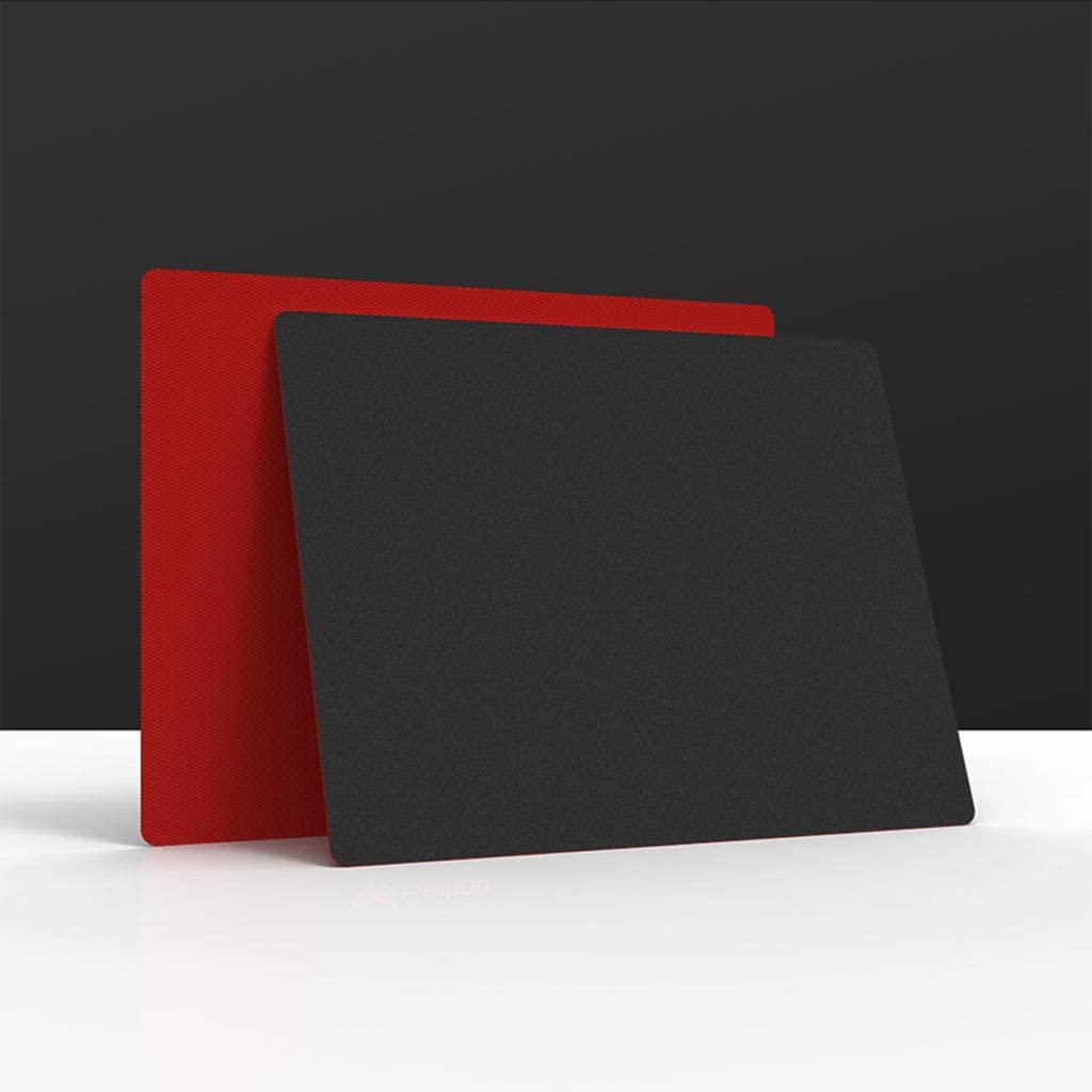 DNZMJRD Matte Mouse Pad Waterproof Anti-Sweat Resin Surface Mouse Pad Comfortable Home Office Supplies Game Student Table Mat Color : Red, Size : 29.623.6cm