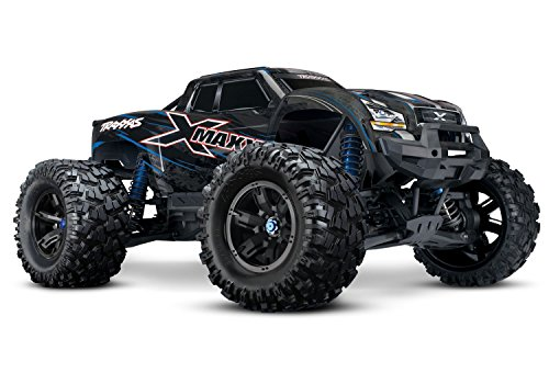 Original - 1 Pack - Traxxas 8S X-Maxx 4WD Brushless Electric Monster RTR Truck, Blue