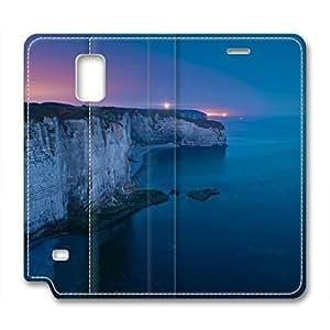 Scenic Spot Design Samsung Note 4 Leather Case Night Scene