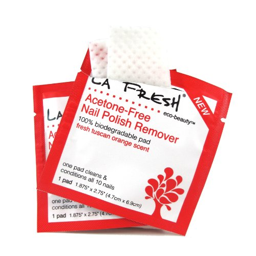 La Fresh Eco Beauty Nail Polish Remover Pads, 200 Count by La Fresh