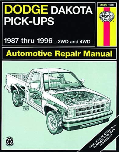 Dodge Dakota Pick-up (87-96) Haynes Repair Manual (Haynes Repair Manuals)
