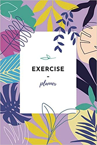 Fitness and Weight Loss Planner Daily Health Activity Notebook