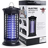 infinitoo Electric Mosquito Killer, Powerful Insect Killer, Mosquito Zappers, Mosquito Trap with Electronic UV Lamp for…