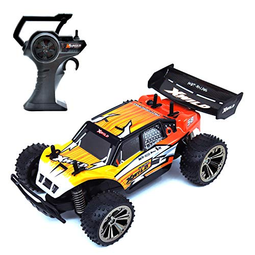 (KELIWOW RC Racing Car RC Truck, 1:16 2WD 12.43 MPH High Speed Drifting Buggy Electric Remote Control Vehicles for Kids Boys Girls Adults Gifts)