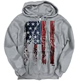 USA Shirt | Flag Stars Stripes America Patriot Pride United Zipper Hoodie