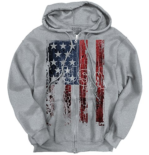 Shirt Eagle Patriotic Zipper Hoodie product image