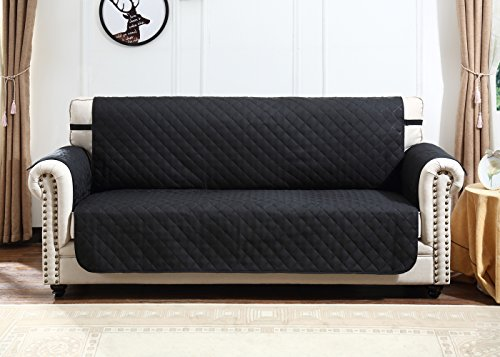 Nice Amazon.com: Argstar Large Sofa Slip Cover Couch Slipcover Professional  Furniture Protector Black/Light Gray (3 4 Seater): Home U0026 Kitchen