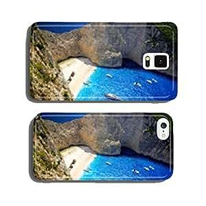 Navagio Beach - Shipwreck Beach, Zakynthos Island, Greece cell phone cover case Samsung S5