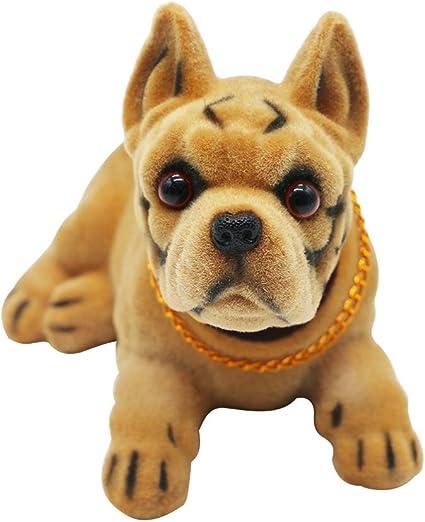 Monliya Adornos De Perro Para Decoración De Coche Adornos De Alta Emulación Creativos Varios Tipos De Manualidades Para Perros Para Amantes De Los Perros Regalo Para Coche Vehículo Escritorio Mesa