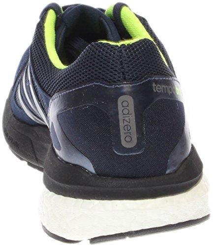 Scarpe Adidas Adizero Tempo Boost 7 Running Sneaker Shoe Midnight Indigo / Solar Yellow