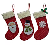 Best Creazydog Christmas Decorations - Creazy® 3pcs/set Christmas Decorations Santa Claus Snowman Candy Review