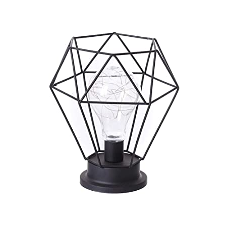 Ablerfly Jaula de lámpara de protección de Bombilla de Metal, para ...