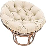 LYHVV Overstuffed Papasan Chair Cushion with