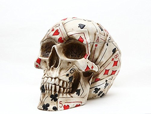 Poker Skull Stash Container Playing product image