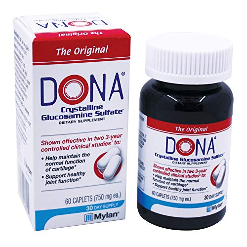 Dona Crystalline Glucosamine Sulfate, 750 Mg, 60 Count by DONA (Image #6)