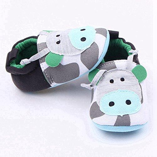 Zapatos verdes con elástico infantiles EJkVWpfE