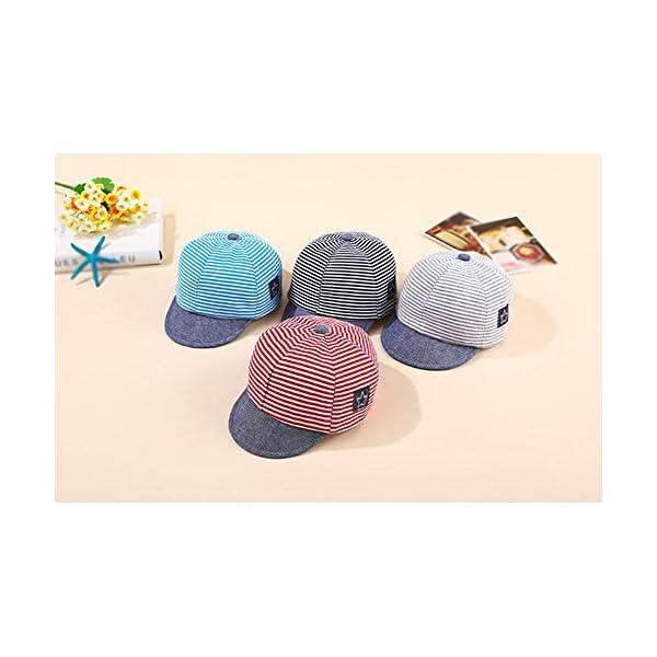 WeiMay Cappellino Bambino, Berretto da Baseball Regolabile per Bebè Estivo da Bambino Cappello da Sole Regolabile per… 2 spesavip