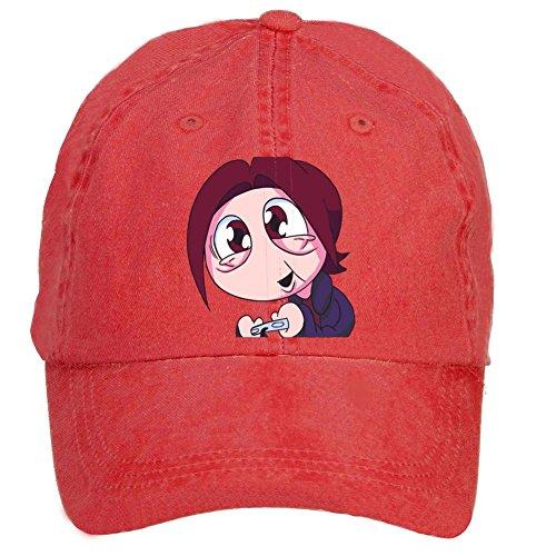 Tommery Unisex Egoraptor Hip Hop Baseball Caps (Angry Birds Play Online Halloween)