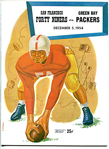 San Francisco 49ers VS Green Bay Packers-NFL Program 12/5/1954-Kezar Stadium-VF (Green Bay Packers Vs San Francisco 49ers)