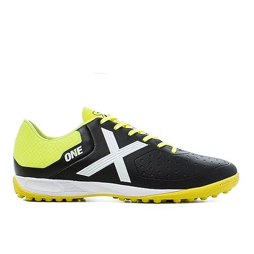 Munich - Zapatillas de fútbol sala de Material Sintético para hombre negro negro: Amazon.es: Zapatos y complementos
