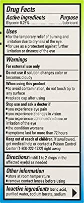 Clear Eyes PRESERVATIVE FREE Pure Relief Multi-Symptom .3 fluid ounces