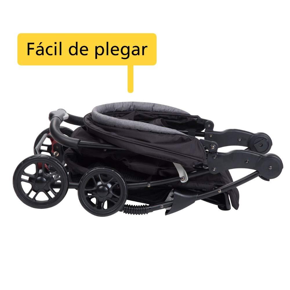 color negro Silla de paseo Safety First TALY /& ADAPTADOR Black Chic