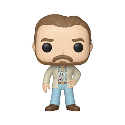 Funko- Pop Vinilo: Stranger Things: Hopper (Date Night) Figura Coleccionable, Multicolor, Talla única (38484)