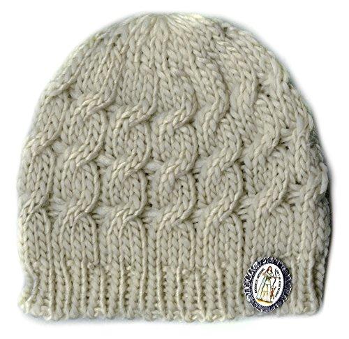Goddess Artemis for Achievement Charm Brooch & Cream Knit Hat - Artemis Cream