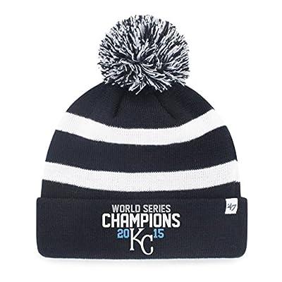 Kansas City Royals MLB 2015 World Series Champions Breakaway Cuffed Knit Pom Hat
