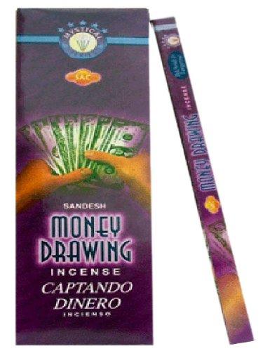 Varillas de incienso de dibujo Jbj Sac dinero