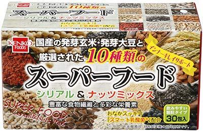 健康フーズのスーパーフード シリアル&ナッツミックス 60g×5個 JAN;4973044090107   B07Q91KY9B