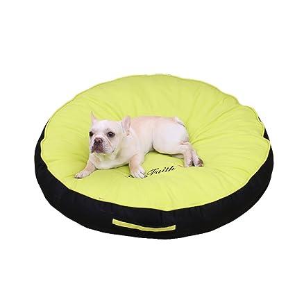 casas para perros interiores Cama rectangular para perro - casa de perro - alfombra lavable y