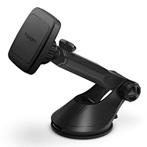 Spigen Kuel H35 Car Phone Mount Universal Magnetic Car Phone Holder with Extendable Arm Compatible with iPhone X/XS/XS Max/XR / 8/8 Plus/Galaxy S9 / S9 Plus / S8 / S8 Plus/Note 8 / Note 9