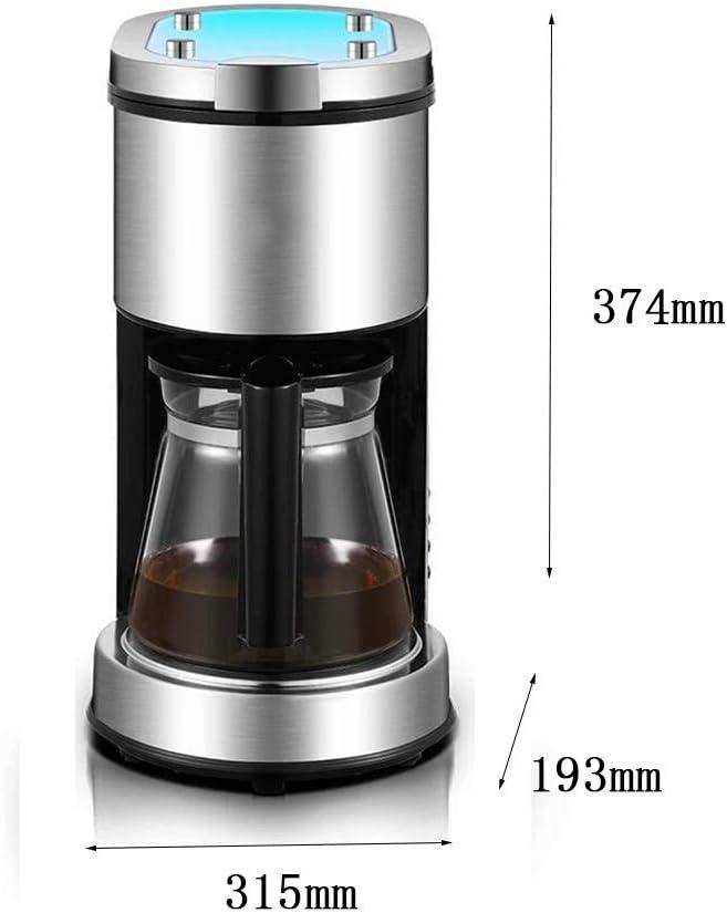 Cafetera Oficina en casa pequeña Olla de Goteo semiautomática: Amazon.es: Hogar