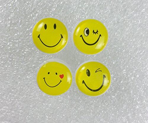 Amazon Com 50pcs Retro Smiley Face Pushpins Thumbtacks Drawing Pin