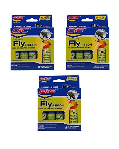 (Pic FR10B Sticky Fly Ribbons (Pack of 30))