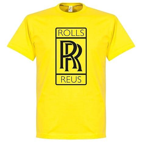 Amazon.com: Retake rollos Reus Tee- amarillo: Sports & Outdoors